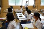 平成27年度体験入学<甘木中学校>【8】
