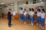 平成27年度体験入学<甘木中学校>【20】