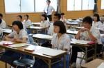 平成27年度体験入学<甘木中学校>【46】