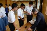 平成27年度体験入学<甘木中学校>【56】