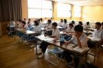 平成27年度体験入学<甘木中学校>【61】
