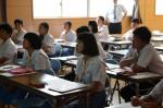 平成27年度体験入学<甘木中学校>【62】