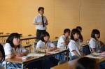 平成27年度体験入学<甘木中学校>【66】