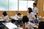 平成27年度体験入学<甘木中学校>【70】