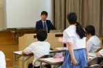平成27年度体験入学<甘木中学校>【74】