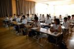 平成27年度体験入学<筑山中学校>【9】
