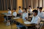 平成27年度体験入学<筑山中学校>【10】
