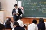 平成27年度体験入学<筑山中学校>【29】