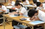 平成27年度体験入学<筑山中学校>【45】