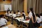 平成27年度体験入学<筑山中学校>【63】