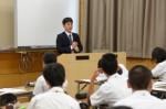 平成27年度体験入学<筑山中学校>【64】