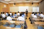 平成27年度体験入学<太宰府中学校>【2】