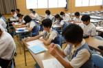 平成27年度体験入学<太宰府中学校>【23】
