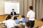 平成27年度体験入学<太宰府中学校>【46】