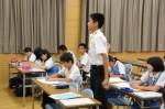 平成27年度体験入学<太宰府中学校>【47】