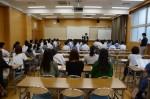 平成27年度体験入学<太宰府西中学校・春日東中学校>【2】
