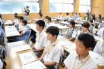 平成27年度体験入学<太宰府西中学校・春日東中学校>【3】