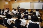平成27年度体験入学<二日市中学校>【2】