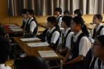 平成27年度体験入学<二日市中学校>【12】