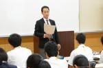 平成27年度体験入学<二日市中学校>【35】