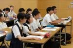 平成27年度体験入学<二日市中学校>【37】