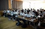 平成27年度体験入学<二日市中学校>【54】