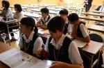 平成27年度体験入学<二日市中学校>【58】