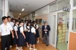 平成27年度体験入学<春日中学校・老司中学校>【18】
