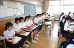 平成27年度体験入学<春日中学校・老司中学校>【22】