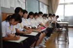 平成27年度体験入学<春日中学校・老司中学校>【24】