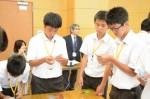 平成27年度体験入学<春日中学校・老司中学校>【76】