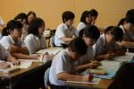 平成27年度体験入学<春日中学校・老司中学校>【94】