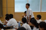 平成27年度体験入学<春日中学校・老司中学校>【97】