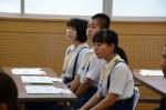 平成27年度体験入学<春日北中学校・天拝中学校>【9】