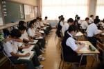 平成27年度体験入学<春日北中学校・天拝中学校>【28】
