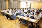 平成27年度体験入学<春日南中学校・御陵中学校>【4】