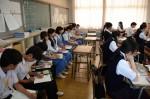 平成27年度体験入学<春日南中学校・御陵中学校>【34】