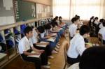 平成27年度体験入学<春日南中学校・御陵中学校>【40】