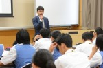 平成27年度体験入学<春日南中学校・御陵中学校>【56】