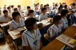 平成27年度体験入学<春日南中学校・御陵中学校>【61】