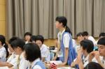 平成27年度体験入学<春日南中学校・御陵中学校>【66】