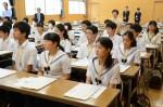 平成27年度体験入学<春日野中学校>【9】