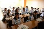 平成27年度体験入学<春日野中学校>【15】