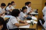 平成27年度体験入学<春日野中学校>【30】