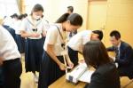 平成27年度体験入学<春日野中学校>【38】