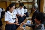 平成27年度体験入学<春日野中学校>【41】