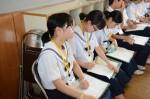 平成27年度体験入学<春日野中学校>【48】