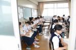 平成27年度体験入学<春日野中学校>【51】