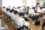 平成27年度体験入学<春日野中学校>【52】