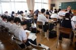 平成27年度体験入学<春日野中学校>【57】